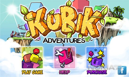 Kubik Adventures - головоломка для WP 7.5 - 8