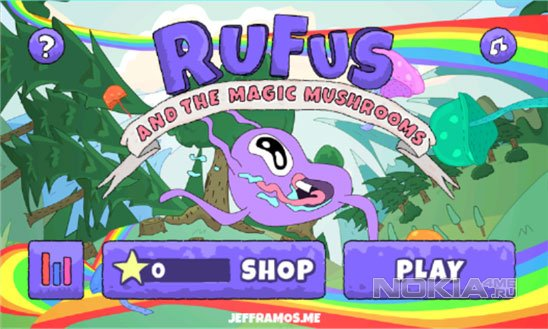 Rufus and the Magic Mushrooms - Руфус и галлюциногенные грибы