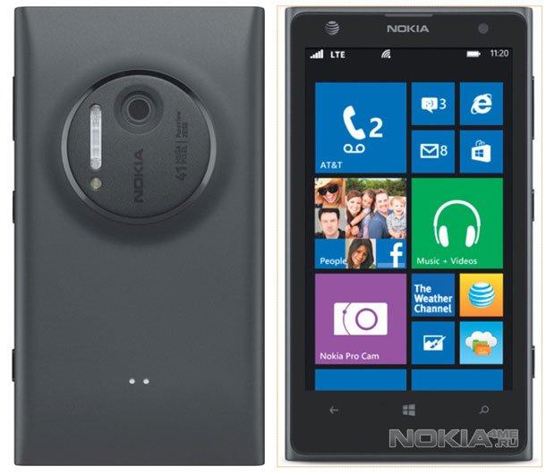 Nokia представила 41-мегапиксельный смартфон Lumia 1020