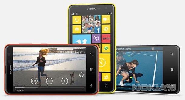 Nokia представила свой самый большой смартфон - Lumia 625