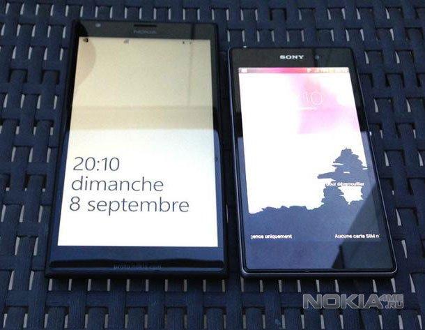 Живые фото Nokia Lumia 1520. Сравнение с Sony Xperia Z