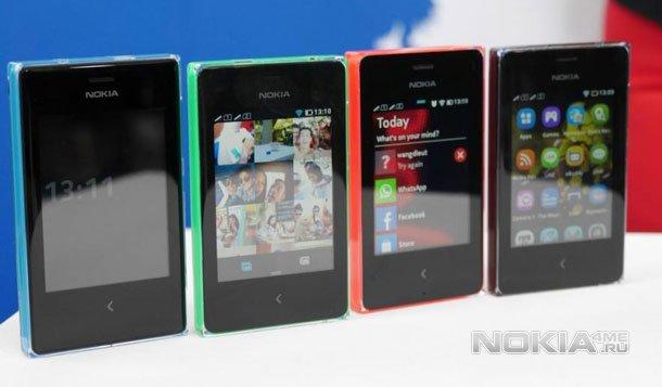 Nokia Asha 500, 502 и 503. Анонс. Живые фото. Промо ролики