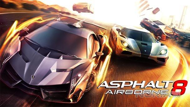 Asphalt 8: Airborne / Асфальт 8: На Взлёт для Виндовс Фон