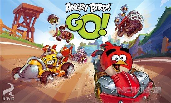 Angry Birds Go! - Энгри Бердс Гоу для Виндовс Фон