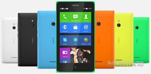 Старт продаж Nokia X. Цена