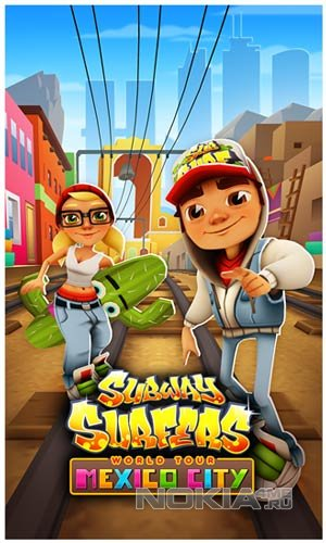 Subway Surfers - Сабвей Серферс на Виндовс Фон