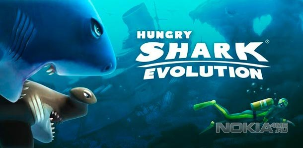 Hungry Shark Evolution - игра для Windows Phone 8